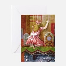 Alice Through the Looking Glass Greeting Card