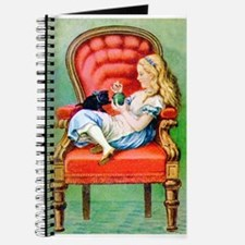 Alice & Dinah in the Big Red Chair Journal
