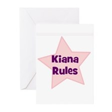 Kiana Rules Greeting Cards (Pk of 10)