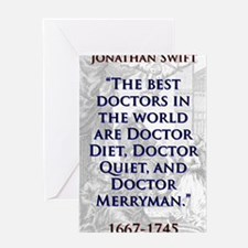 The Best Doctors In The World - J Swift Greeting C