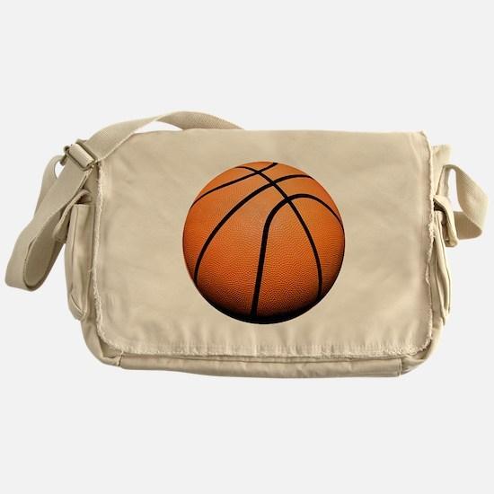 Basketball Messenger Bag
