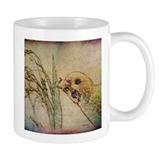 Parakeet Eating - Mug