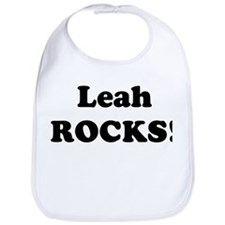 Leah Rocks! Bib
