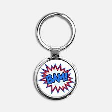 Hero Bam Bursts Keychains