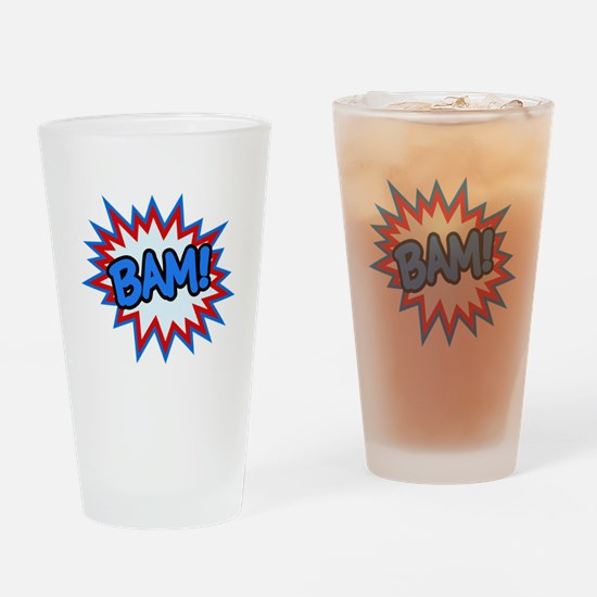 Hero Bam Bursts Drinking Glass