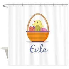 Easter Basket Eula Shower Curtain