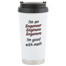 Cute Engineer Travel Mug