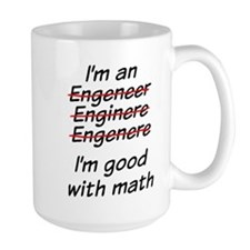 I am good with math Mugs