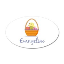 Easter Basket Evangeline Wall Decal
