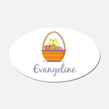Easter Basket Evangeline Wall Decal