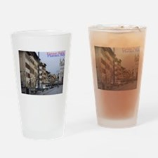 Old town scape (Beautiful Florence) Drinking Glass