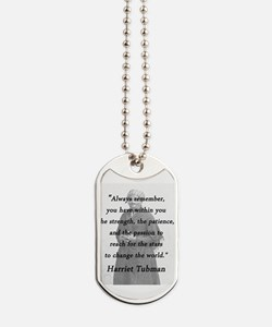 Tubman - Within You Dog Tags
