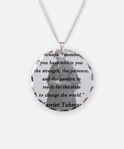 Tubman - Within You Necklace