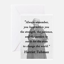 Tubman - Within You Greeting Cards