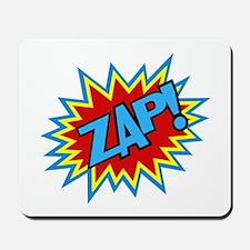 Hero Zap Bursts Mousepad