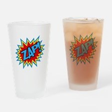 Hero Zap Bursts Drinking Glass