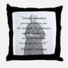 Tubman - Within You Throw Pillow