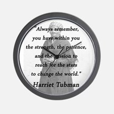 Tubman - Within You Wall Clock