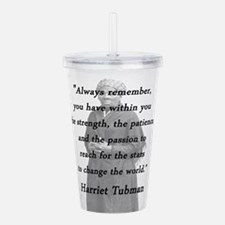 Tubman - Within You Acrylic Double-wall Tumbler