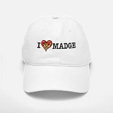 I Heart Madge Baseball Baseball Cap