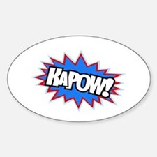 Hero KaPow Bursts Decal