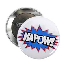"Hero KaPow Bursts 2.25"" Button"