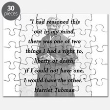 Tubman - Reasoned This Out Puzzle