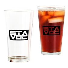 STAVOC logo Drinking Glass