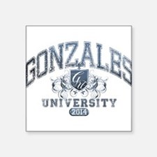Gonzales Last name University Class of 2014 Sticke