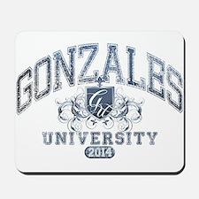 Gonzales Last name University Class of 2014 Mousep