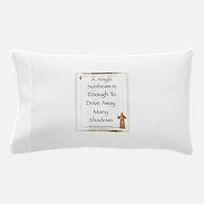 Saint Pope Francis Simple Prayer Pillow Case