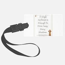 Saint Pope Francis Simple Prayer Luggage Tag