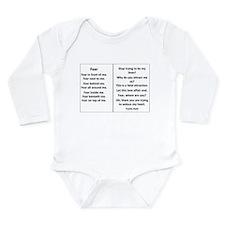 Yvette's World Long Sleeve Infant Bodysuit