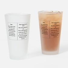 Yvette's World Drinking Glass