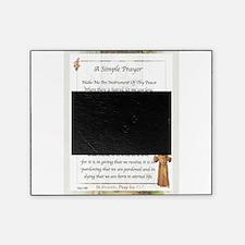 Saint Pope Francis Simple Prayer Picture Frame