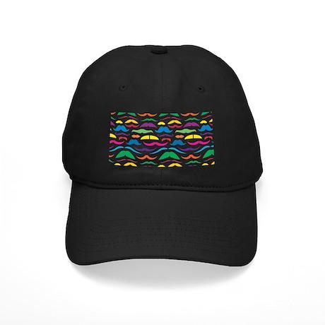 Mustache Color Pattern Baseball Hat