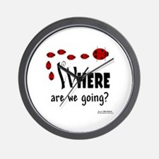 Where Are We Going? Wall Clock