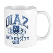 Diaz Last Name University Class of 2014 Mug