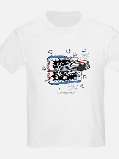 Hockey Puck Kids T-Shirt