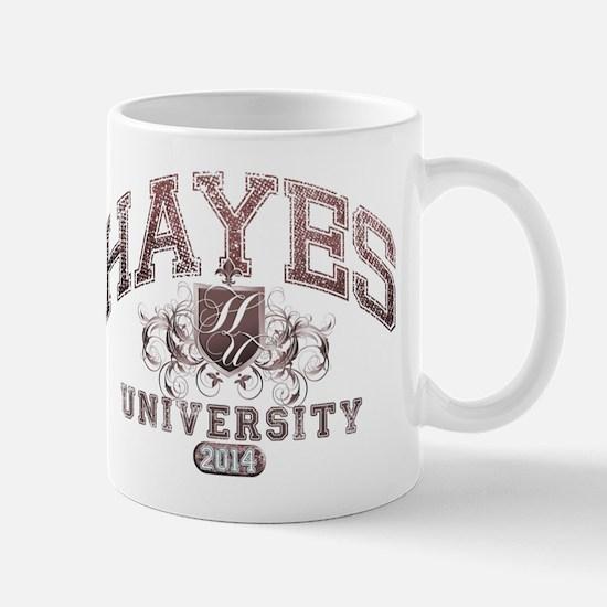 Hayes Last name University Class of 2014 Mug