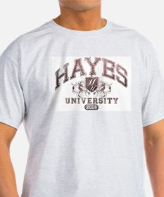 Hayes Last name University Class of 2014 T-Shirt