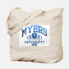 Myers last name University Class of 2014 Tote Bag