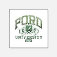 Ford Last name University Class of 2014 Sticker