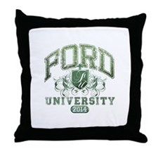 Ford Last name University Class of 2014 Throw Pill