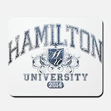 Hamilton Last Name University Class of 2014 Mousep