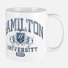 Hamilton Last Name University Class of 2014 Mug