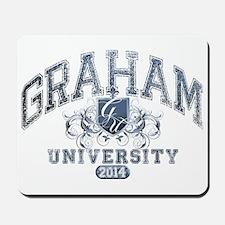 Graham Last name University Class of 2014 Mousepad