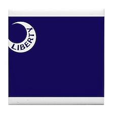 Liberty Flag Tile Coaster