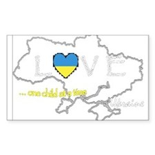 Love Ukraine...(D) Decal