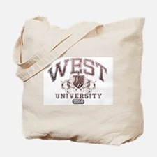 West Last Name University Class of 2014 Tote Bag